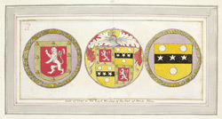 Brede Place, Coats Of Arms